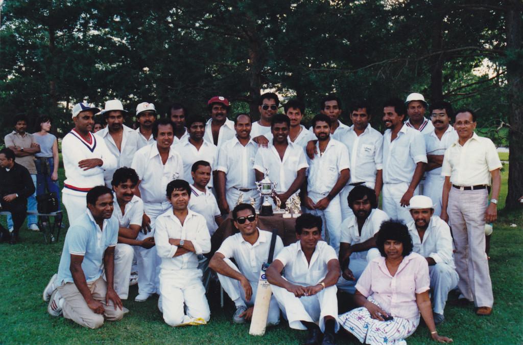 1986, Ottawa and Toronto teams