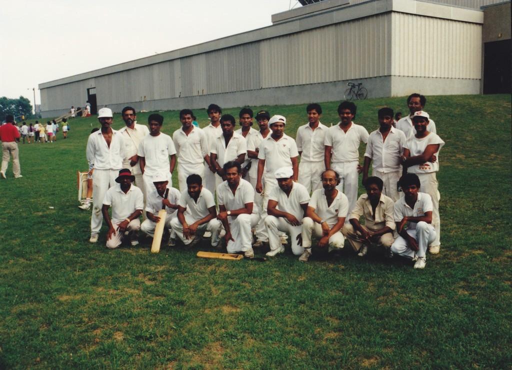 1989, Ottaw and Toronto teams